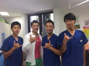 小林式施術でテレビにも出演する大先輩である田中 宣彦さんと